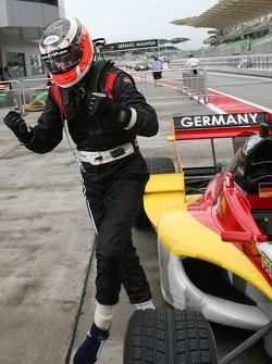 Race winner Nico Hulkenberg