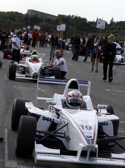 Starting grid: Euan Hankey