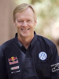 Volkswagen Motorsport test in Morocco: Ari Vartanen