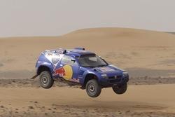 Volkswagen Motorsport test in Morocco: Carlos Sainz and Michel Périn