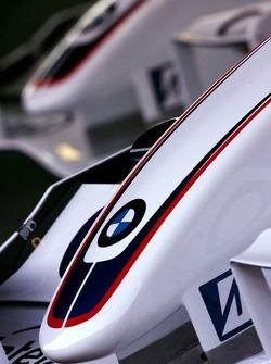 BMW Sauber F1 nose cones