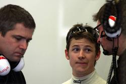 Marco Andretti and Gil de Ferran