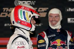 Tom Kristensen and David Coulthard