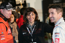 Armin Schwarz, Michèle Mouton and Bernd Schneider