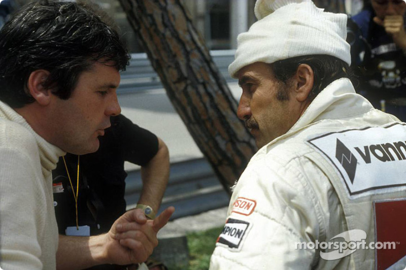 Alan Jones and Clay Regazzoni