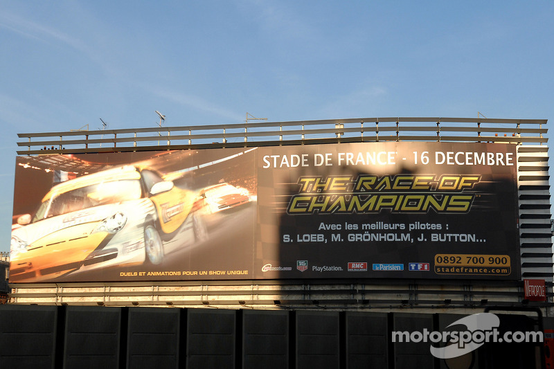 Billboard Race of Champions 2006, Paris