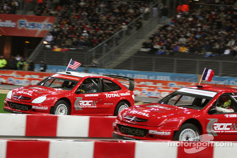 Semi final: Sébastien Loeb and Travis Pastrana