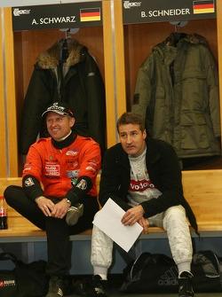 Armin Schwarz and Bernd Schneider