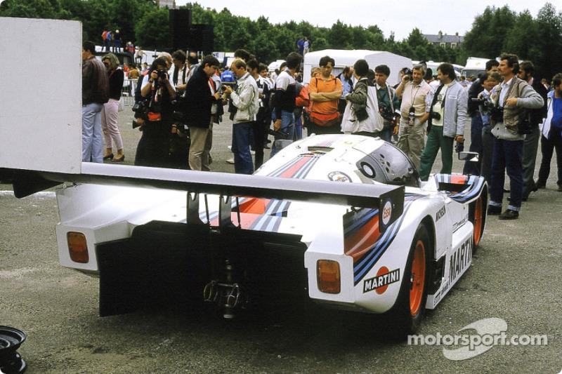 #5T Martini Lancia LC2 test car