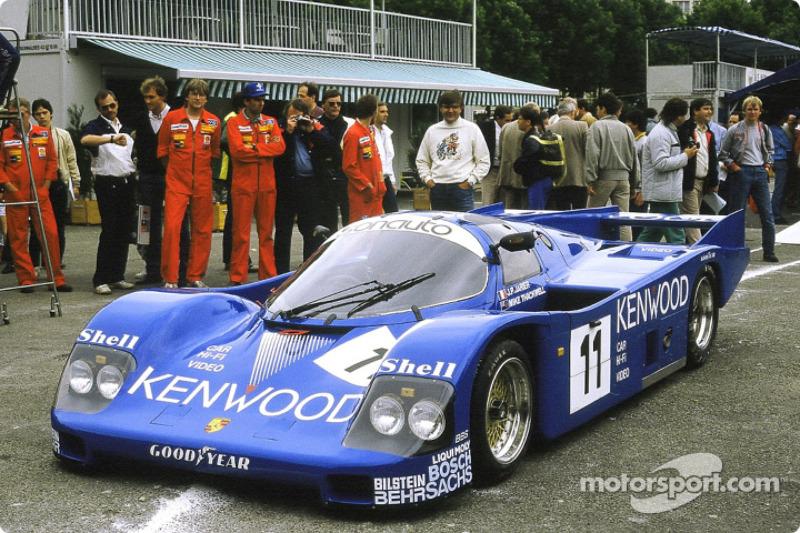 #11 Kremer Porsche Racing Porsche 962 C: Jean-Pierre Jarier, Mike Thackwell, Franz Konrad