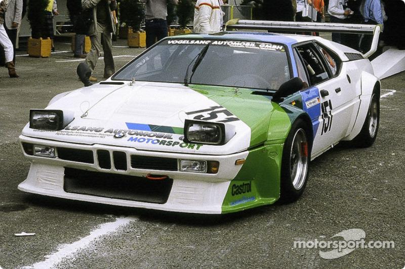 #152 Claude Haldi BMW M1: Harald Grohs, Alfrid Heger, Kurt König