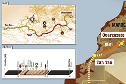 Stage 5: 2007-01-10, Ouarzazate to Tan Tan