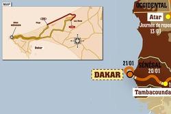 Stage 15: 2007-01-21, Dakar to Dakar