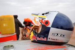 Helmet of Marc Coma