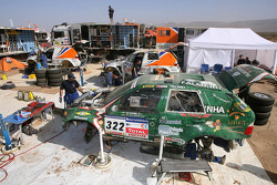 Palmeirinha Rally and X-Raid bivouac