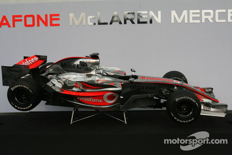 The McLaren Mercedes MP4-22
