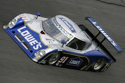 #91 Lowe's Riley-Matthews Motorsports Pontiac Riley: Jim Matthews, Marc Goossens, Jimmie Johnson, Ryan Hunter-Reay