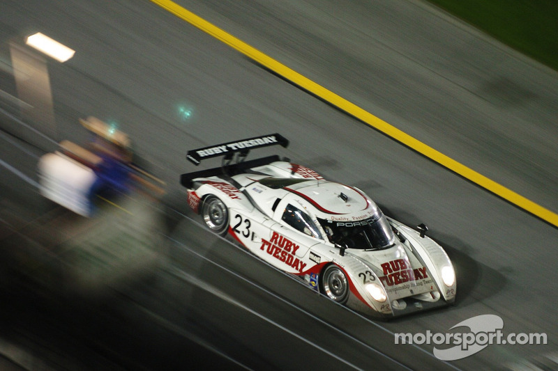 #23 Ruby Tuesday Championship Racing Porsche Crawford: Patrick Long, Jorg Bergmeister, Romain Dumas
