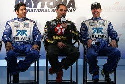 Post-race press conference: Salvador Duran, Juan Pablo Montoya and Scott Pruett