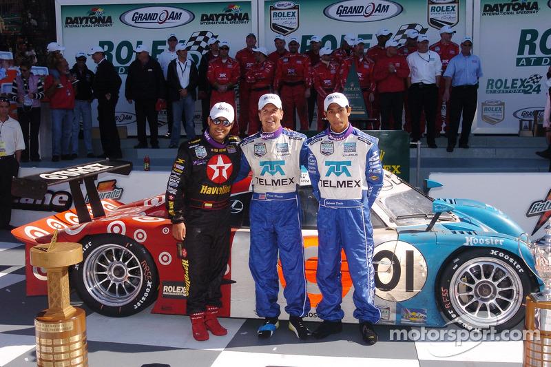 Juan Pablo Montoya (3 victorias en las 24 Horas de Daytona)