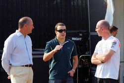 Ron Dennis, McLaren, Team Principal, Chairman and Fernando Alonso