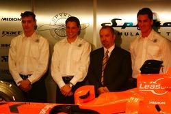 James Key; Christijan Albers; Mike Gascoyne; Adrian Sutil, Spyker-Ferrari