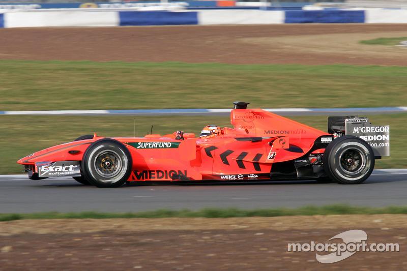 Christijan Albers Spyker-Ferrari F8-VII