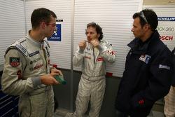Sébastien Bourdais, Jacques Villeneuve and Stéphane Sarrazin