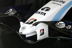Nose cone of the Williams FW29