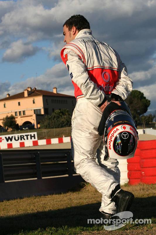 Zwischenfall: Fernando Alonso, MP4-22