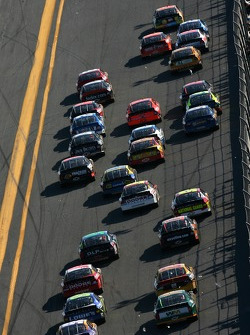 David Gilliland leads the field