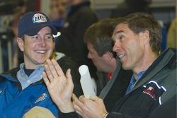 Drivers meeting: Kurt Busch and Ray Evernham