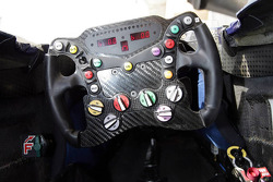 Red Bull Racing and Scuderia Toro Rosso photoshoot: steering wheel of the Red Bull Racing RB3