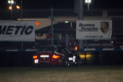 Spin for #87 Farnbacher Loles Motorsports Porsche GT3 Cup: Christian Zugel, John Burke, Gunnar Jeannette, Ryan Eversley