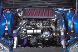 Engine of the new Subaru Impreza WRC2007