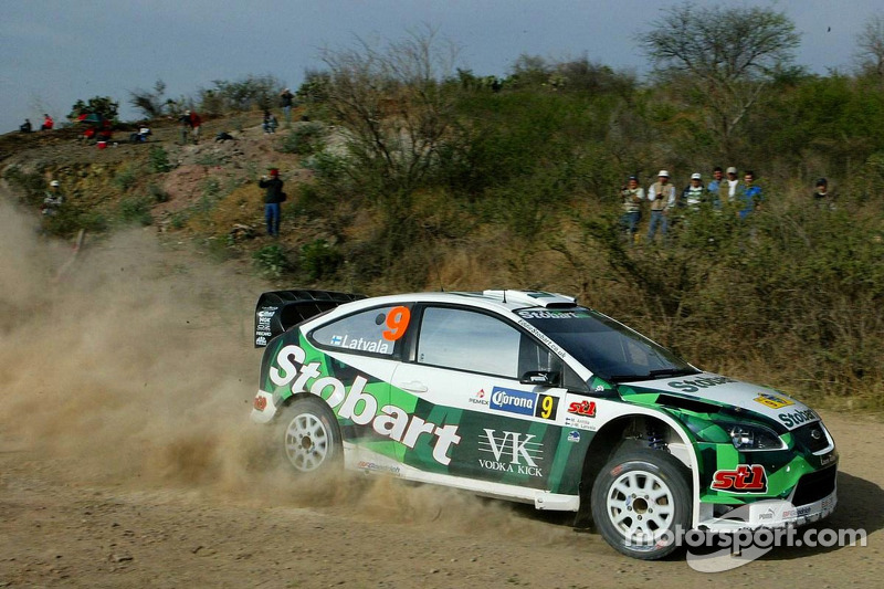 Jari-Matti Latvala and Miikka Anttila, Stobart M-Sport Ford Rally Team, Ford Focus WRC