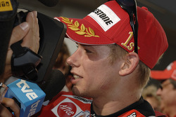 Interview with race winner Casey Stoner