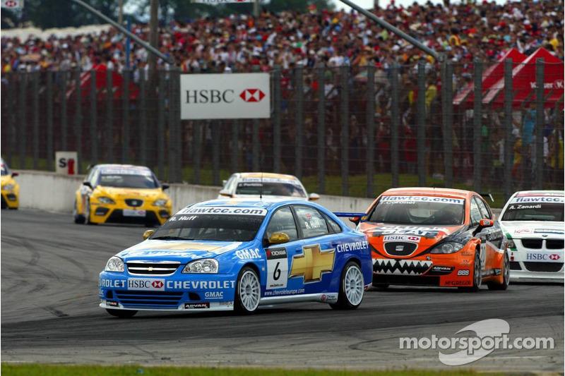 Robert Huff, Team Chevrolet, Chevrolet Lacetti et Tom Coronel, GR Asia, SEAT Leon