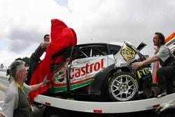 Crash damaged Seat Leon