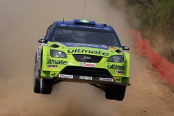Marcus Gronholm y Timo Rautianen, BP Ford, Ford Focus WRC