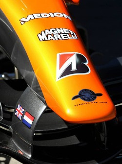 Spyker F1 Team, Front wing