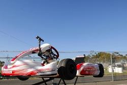Jarno Trulli, Toyota Racing, Kart - Karting with Australian Football League Players