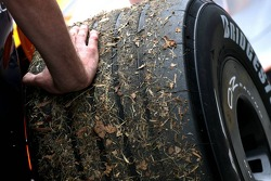 Dirty Bridgestone Tyre