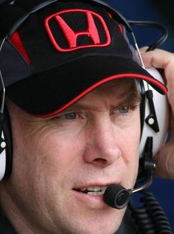 Jock Clear, Honda Racing F1 Team, Senior Race Engineer to Rubens Barrichello