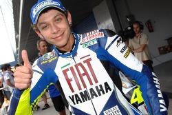 Valentino Rossi second fastest qualifier