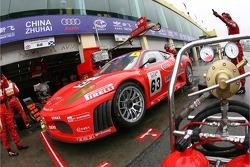 #63 Scuderia Ecosse Ferrari 430 GT2