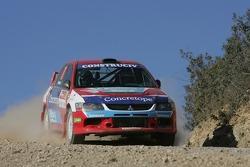Rui Madeira and Nuno Silva, Mitsubishi Lancer Evolution IX