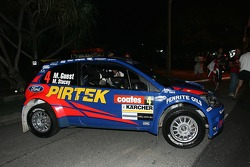 The all new FORD Fiesta S2000 rally car
