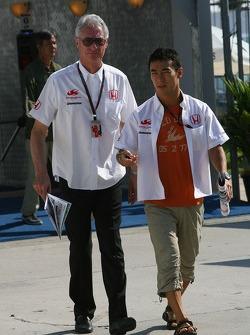 Daniele Audetto, Super Aguri F1 and Takuma Sato, Super Aguri F1