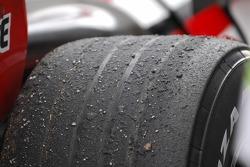 Bridgestone hard tyre
